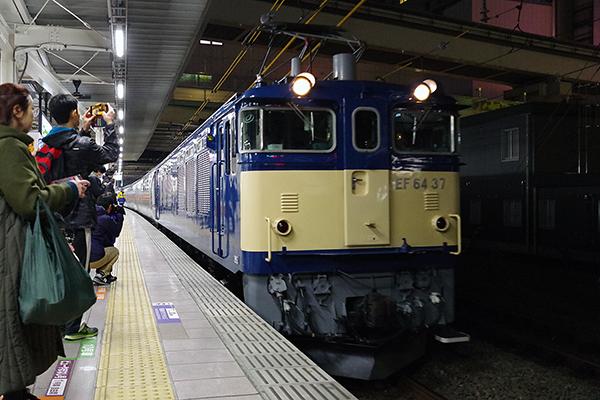 カシオペア紀行 立川駅 6番線