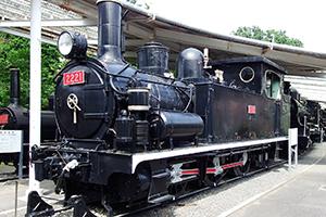 青梅鉄道公園 2120形蒸気機関車 2221号機